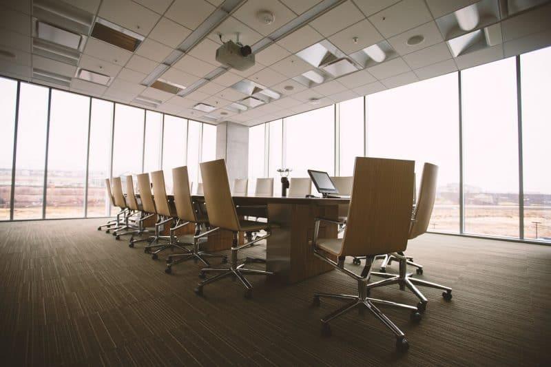 משרד מעוצב של חברה